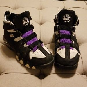 info for f5128 05f96 Nike Shoes - Nike Air Max2 CB  94 OG Black White-Pure Purple